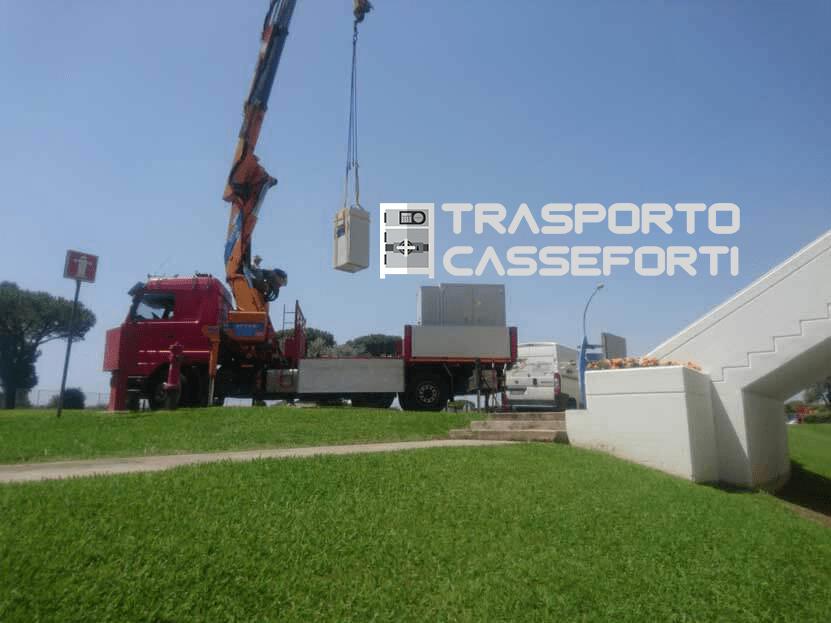 trasporto cassaforte